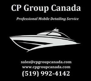 Boat, RV, Auto & Home Detailing - CP Group Canada Professionals