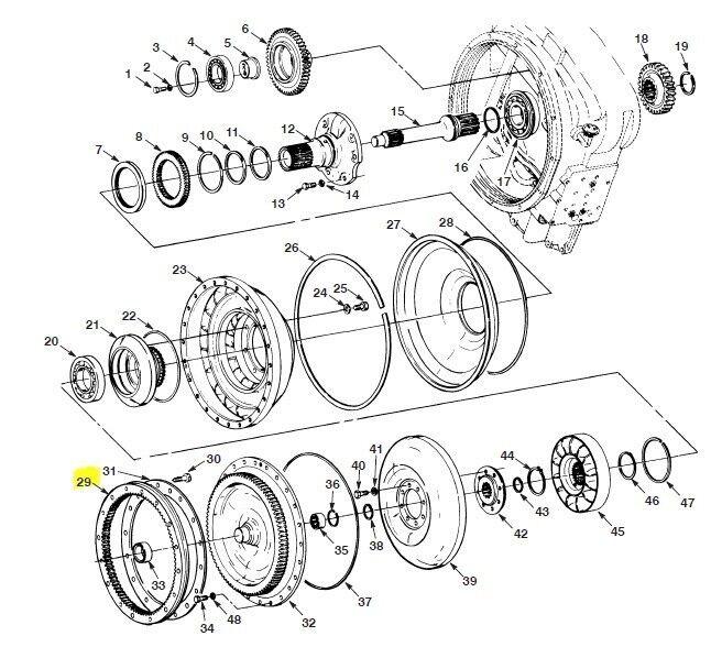 Caterpillar 9t7125 Hydraulic Cylinder Seal Kit Ebay Bobcat Car