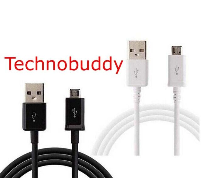 Samsung Galaxy S4 S3 S5 Note Mini 2 Data Charger Sync Cable Lead White