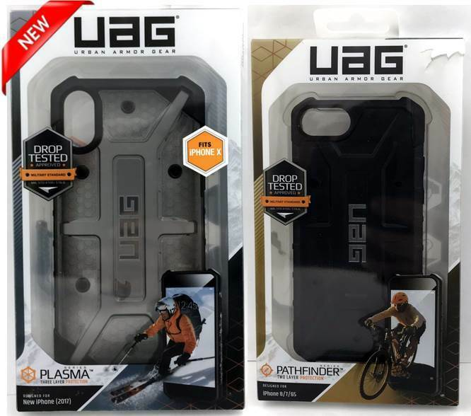 NEW Urban Armor Gear Plasma/Pathfinder Series Case For IPhone Models - $9.99