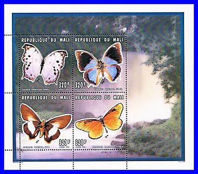 MALI 1996 BUTTERFLIES M/S MNH INSECTS (K-LM-DEC)