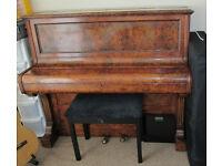 Piano. Free standing Piano. Musical instrument. Collard & Collard piano