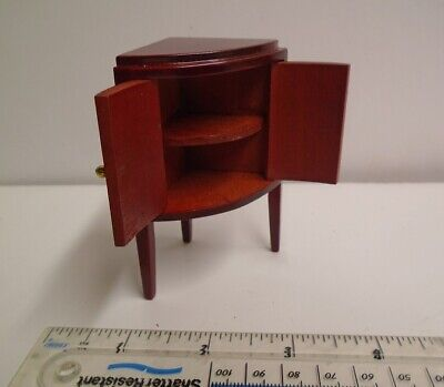 Wooden Corner Cabinet Drinks Cupboard Dolls House Kitchen Shop