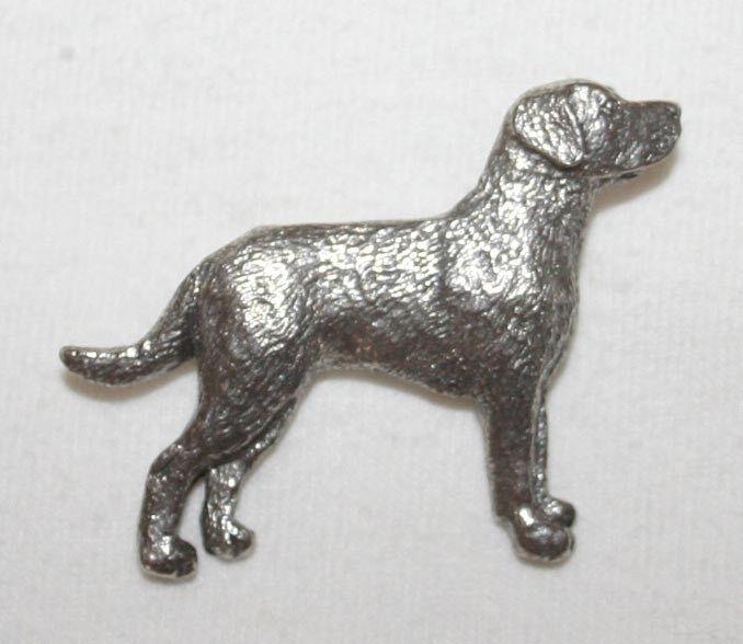 Chesapeake Bay Retriever Chessie Dog Fine PEWTER PIN Jewelry Art USA Made