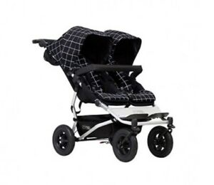 NEW Mountain Buggy Duet V3 double stroller