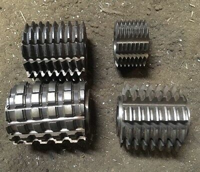 Gear Hob Cutter Lot Machinist Tool Box Find Mill E20 Ss 75292 80859 Plus Mor
