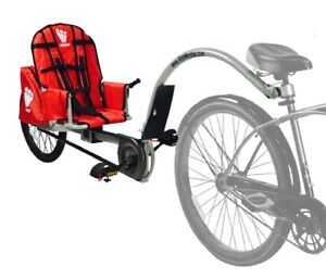 Weehoo Bike Trailer with Safety Flag and Extra Adapter