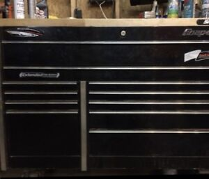 Snap On Master Series Tool Box with Hardwood Top