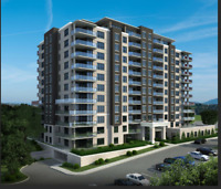 Luxury, modern,  2 bed +den  2 baths suites with all amenities