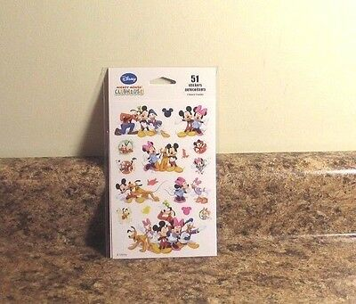(Disney Mickey Mouse Clubhouse Sticker Set 3 Sheets NEW)