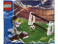 LEGO 5012 RARE Footballer & Goal from 2003 Sealed Polybag