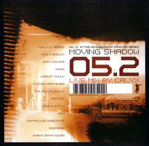 Calyx - 05.2 - Moving Shadow ASHADOW952CD CD BRAND NEW SEALED DRUM & BASS CALYX