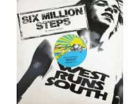 Rahni Harris & F.L.O.* ‎– Six Million Steps (West Runs South): Funk / Soul 12'' Vinyl
