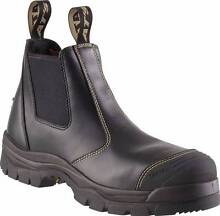Oliver Black Steel Toe Cap Elastic Sided Safety Boot Mens Size 10 North Haven Port Adelaide Area Preview