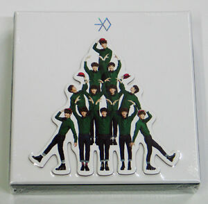 EXO-Miracles-in-December-Special-Album-Korean-version-CD-Poster-Gift-Photo