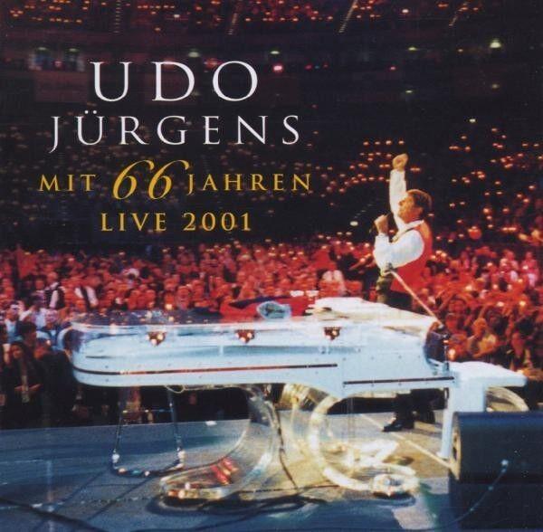 """UDO JÜRGENS """"MIT 66 JAHREN - LIVE 2001"""" 2 CD NEUWARE"""