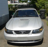 2000 Mustang Convertible aucune rouille exaust double trouble