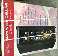 BRAND NEW -12 Bottle Wine Cooler