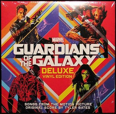 Guardians Of The Galaxy: Deluxe Vinyl Edition (Soundtrack) (Vinyl 2LP) NEW