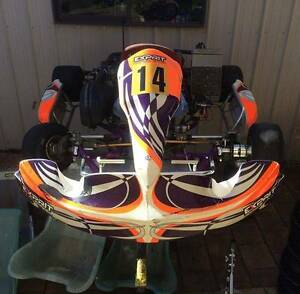 DD2 Exprit Neossis Go Kart Watson North Canberra Preview