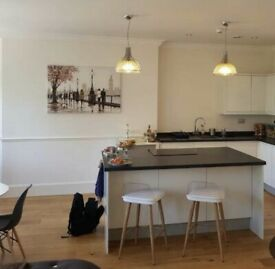 Double room in a modern city centre flat