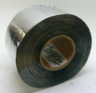 Mvp Aluminum Foil Tape With Butyl Rubber Backing 4 X 50 Roll - 50 Mil Thick