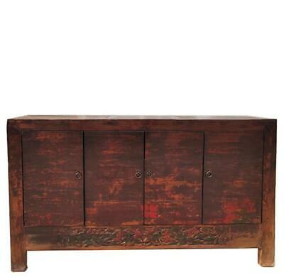 Reddish Antique Sideboard