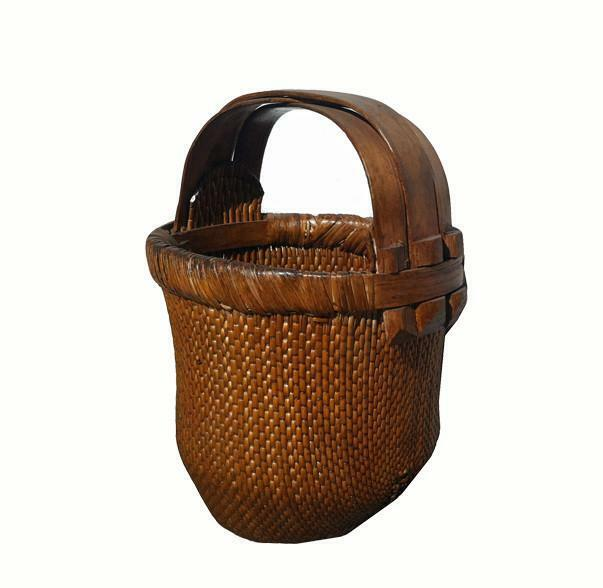 Hand-Woven Antique Chinese Baskets 2