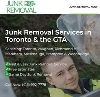 *Low Cost* Junk Removal Services in Toronto & the GTA