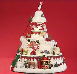 Lemax North Pole Tower 2018