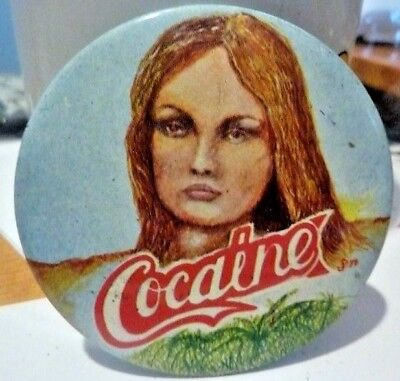 "COCAINE, Vintage 1970's - 1980's  2 ½ """