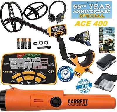 Garrett ACE 400 Metal Detector, Propointer AT, Treasure 55th Anniversary Special - Ace Metal Detector