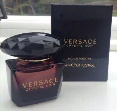 Versace Crystal Noir EDT Miniature - Boxed