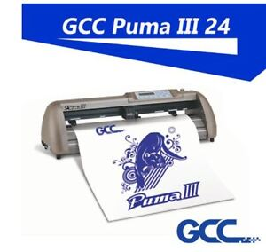 "GCC PUMA IV LX 24"" VINYL CUTTER PLOTTER  OPTICAL EYE"