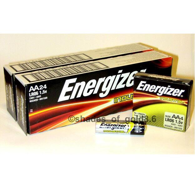 Купить Energizer Industrial - 48 Energizer Industrial AA Alkaline Batteries (EN91, LR6, 1.5V)