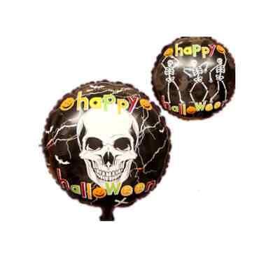 Happy Halloween Folien Helium Ballon Totenkopf Horror Gruselige Party Deko
