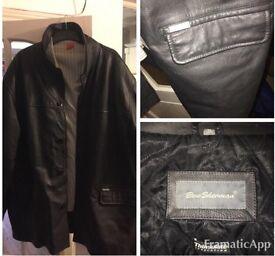 Ben Sherman XXXL Winter leather jacket