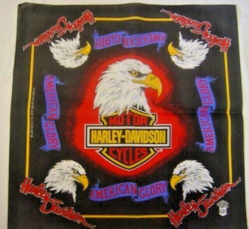 Harley Davidson Bandana  American Glory © authentic  Never worn or used