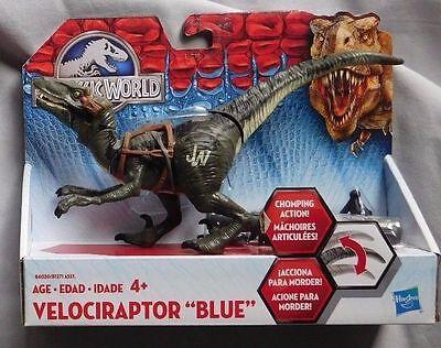 "Jurassic World ""BLUE"" B1271 Velociraptor Bashers & Biters Brand New Fast Postage"