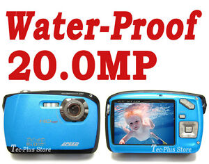 *NEW* JAPAN SPEEDIGITAL DC6 WATERPROOF 20.0 MP DIGITAL CAMERA, VIDEO a