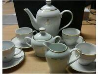 BN Boxed Queen Elizabeth II Golden Jubilee 7pcs Tea Set