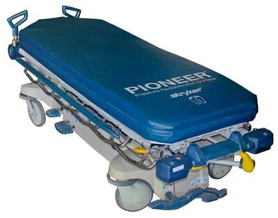 Stryker 1005 Glideaway Medical Hospital Bed Patient Transport Stretchergurney