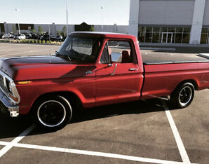 Clean 1979 F-150 Custom (restored)