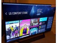 """LG touchscreen 49"""" tv want gone asap!"""