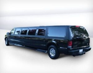 2005 Ford Excursion Stretch SUV Limo