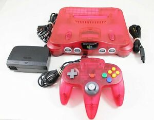 Looking for N64 systems (Fire, Grape, Smoke or Watermelon)