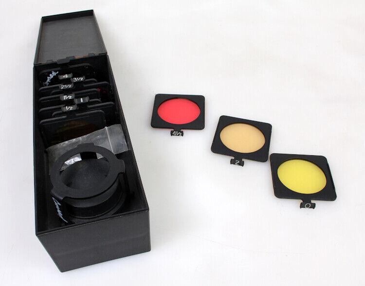 Kodak Polymax Polycontrast Filter Kit Set of 9 Filters