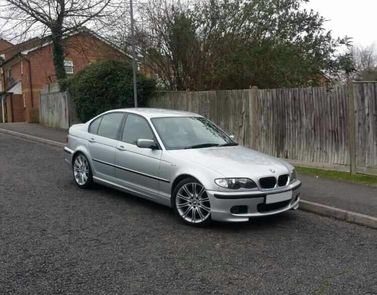 bmw 320d m sport silver e46 2003 good example in high. Black Bedroom Furniture Sets. Home Design Ideas