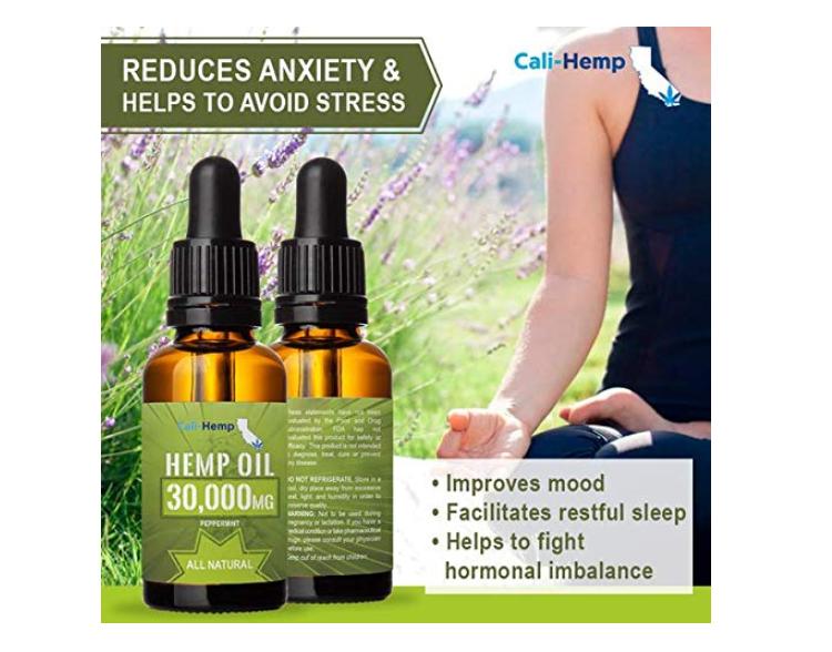 2 Pack Hemp Oil Drops 30000 Mg Sleep Mood & Support Pain Anxiety