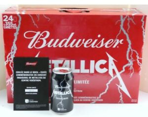 METALLICA UNOPENED CASE 24x355ml. (Caisse 24)